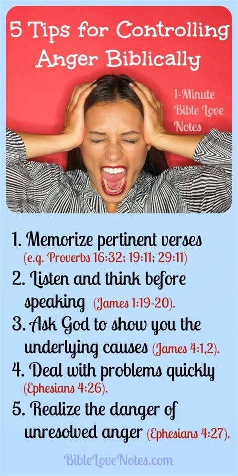 tips  controlling anger biblically  god