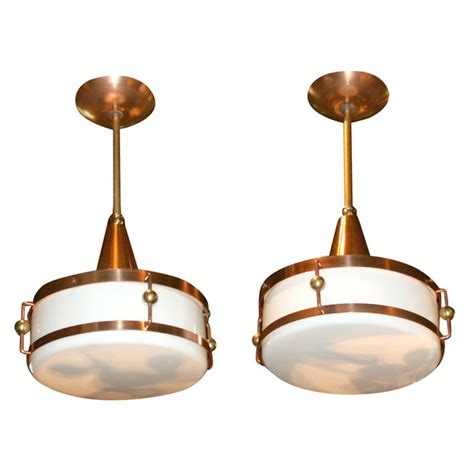 pair of marshall field s barber shop light fixtures at 1stdibs