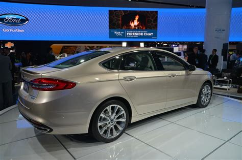 2018 Naias 2017 Ford Fusion V6 Sport Unleashed Ultimate