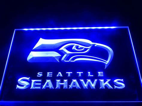 neon signs for home decor aliexpress com buy ld242 seattle seahawks bar pub led
