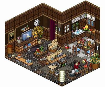 Living Habbo Pixel Cutiezor Bibliotheek Rooms Deviantart