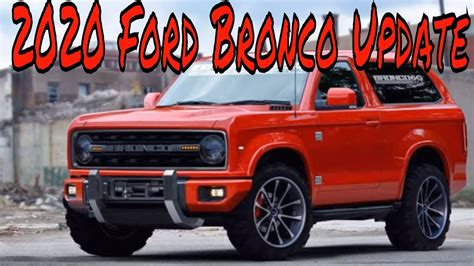 hot news  ford bronco price  release date pagebdcom
