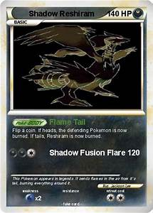 Pokémon Shadow Reshiram 3 3 - Flame Tail - My Pokemon Card