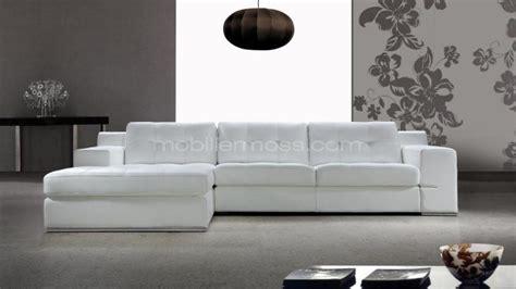 canape blanc cuir design photos canapé d 39 angle cuir blanc design