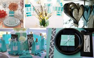 Breakfast at Tiffany Bridal Shower Decoration Ideas