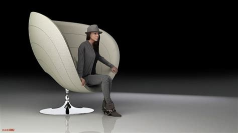 The Rosa Poltrona Cocoon Chair, Inspired By The Rose
