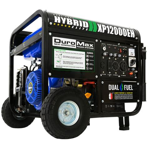 112m consumers helped this year. Duromax XP12000eh - 12,000 Watt Dual Fuel Portable Generator