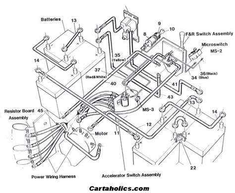 cartaholics golf cart gt wiring diagram crafts