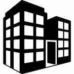 Office Building Block Tower Buildings Icon Data