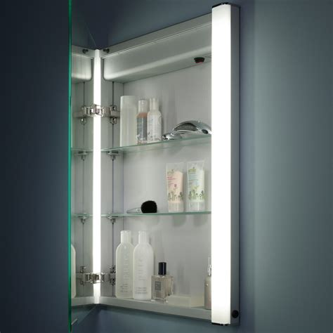 Roper Rhodes Illusion Recessible Single Mirror Glass Door