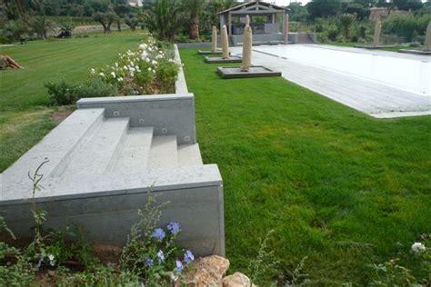 pour muret exterieur jardin