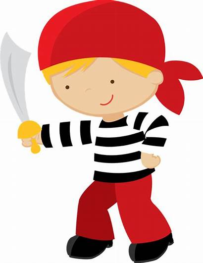 Pirate Clipart Party Clip Pirates Goodbye Boy