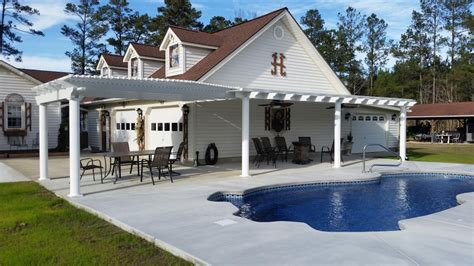 Pergola Style Solid Roofs  Trademark Home Exteriors