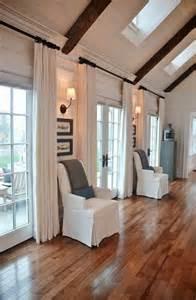 ausgefallene schlafzimmer 60 elegante designs gardinen für große fenster