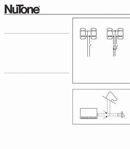Nutone Ventilation Hood F305c User Guide