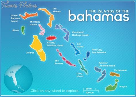 bahamas map travelsfinderscom