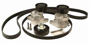Adk0023p - Accessory Belts And Tensioners Kit