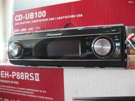 ПРОДАМ Pioneer Deh-p88rs2 и Usb адаптер Cd-ub100