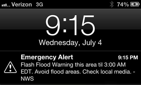 iphone emergency alerts ios 6 delivers emergency alerts to iphone users