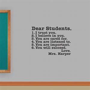 101 best classroom and school wall quotes lettering for Wall letter designs