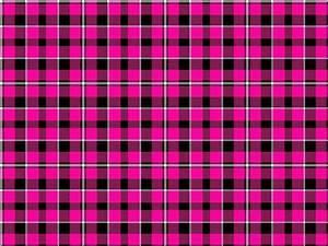 Image Gallery pink plaid