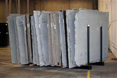 a frame slab racks