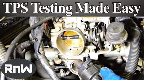 test  throttle position sensor tps