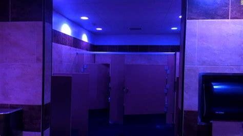 gas station installs blue lights  combat drug  cnn