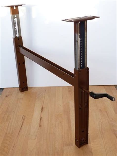 diy crank standing desk 25 best ideas about adjustable height table on