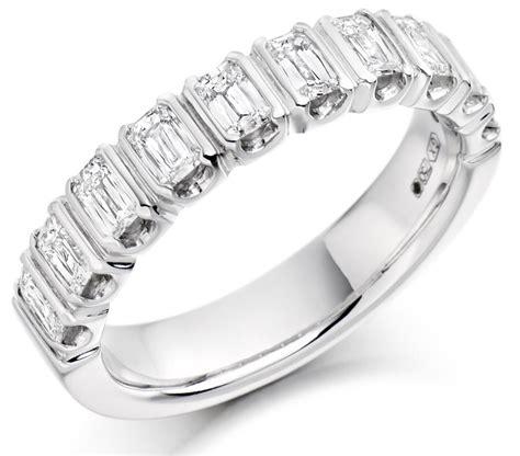 baguette diamond  eternity ring hetcc