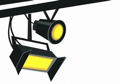 Stage Lights Clipart Lighting Clip Cinema Film