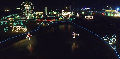 drive  holiday light displays  indiana  news