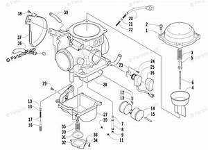 2008 Arctic Cat 650 H1 Parts Diagram