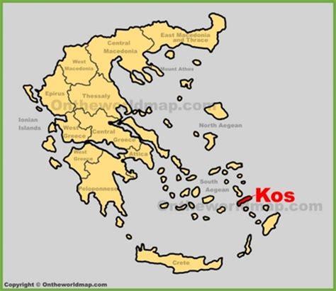 kos maps greece maps  kos island