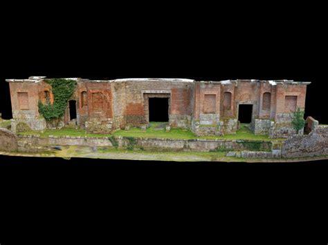 Ingresso Teatro Ferento Ingresso Teatro Romano 3d Museum