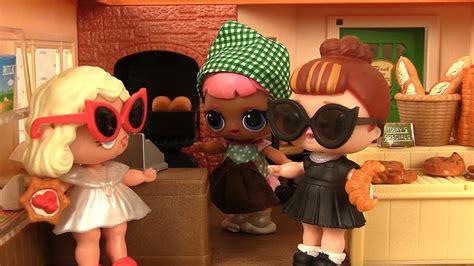 histoires de poupees lol surprise boulangerie sylvanian