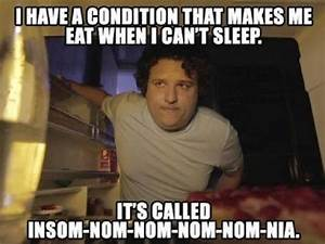 Eat When I Can't Sleep | Funny Pictures, Quotes, Memes, Jokes