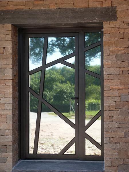 porte d entrée en metal porte d entr 233 e l de fer artisan m 233 tallier porte