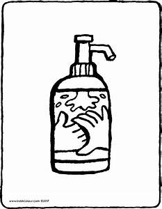 Pompe A Savon : pompe savon kiddicoloriage ~ Teatrodelosmanantiales.com Idées de Décoration
