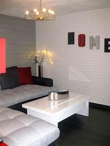 Mur Blanc Et Gris : parquet gris salon simple les meilleures ides de la catgorie murs gris fonc sur pinterest murs ~ Preciouscoupons.com Idées de Décoration