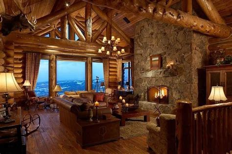 beautiful log home interiors interior log cabin quot little quot cabin in the woods pinterest