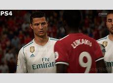 FIFA 18 Demo PS4 Pro 4K vs PS4 1080P Screenshot