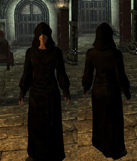 dark brotherhood outfits redone  skyrim nexus mods