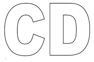 moldes de letras do alfabeto em tamanho grande para