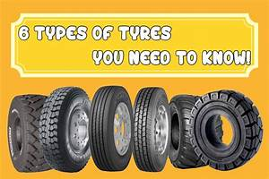 The 6 Types Of Tyres You Need To Know