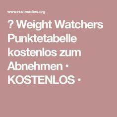 Weight Watchers Feel Good Punkte Berechnen : die besten 25 weight watchers punktetabelle kostenlos ideen auf pinterest weight watchers ~ Themetempest.com Abrechnung