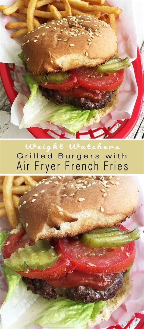 recipe diaries fries french burgers fryer air grilled recipes grilling