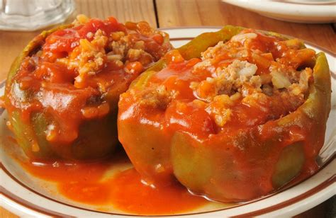 stuffed peppers stuffed peppers recipe sparkrecipes