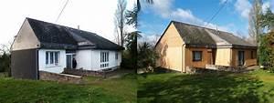 Renovation Maison Avant Apres Travaux : travaux facade maison maison avant travaux faade ~ Zukunftsfamilie.com Idées de Décoration
