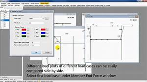 Addsea Sacs Tutorial  How To Plot Member Forces And